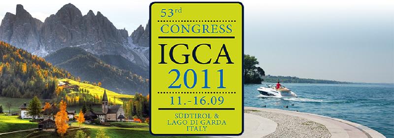 CONGRESSO IGCA: L'11 SETTEMBRE IL GARDEN MONDIALE SI INCONTRA IN ITALIA