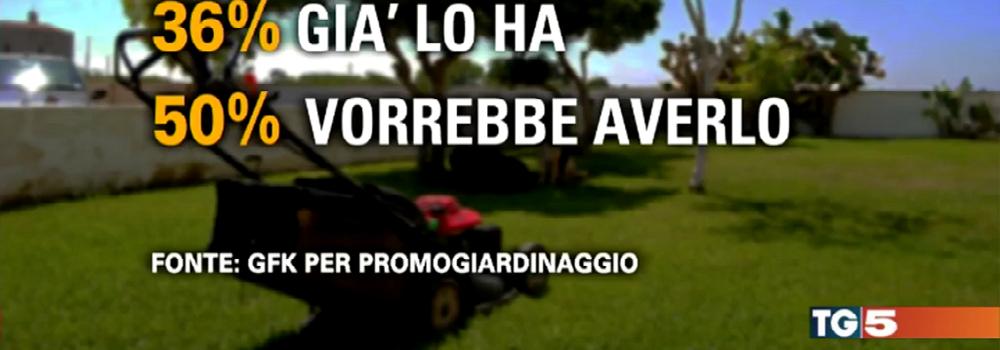 PROMOGIARDINAGGIO PARLA DI ORTI URBANI AL TG5