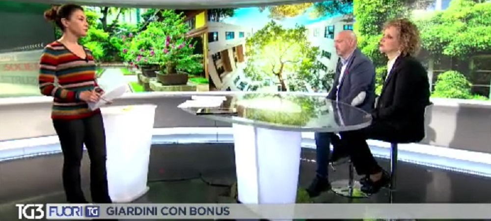 PARLIAMO DI BONUS VERDE ANCHE AL TG 3