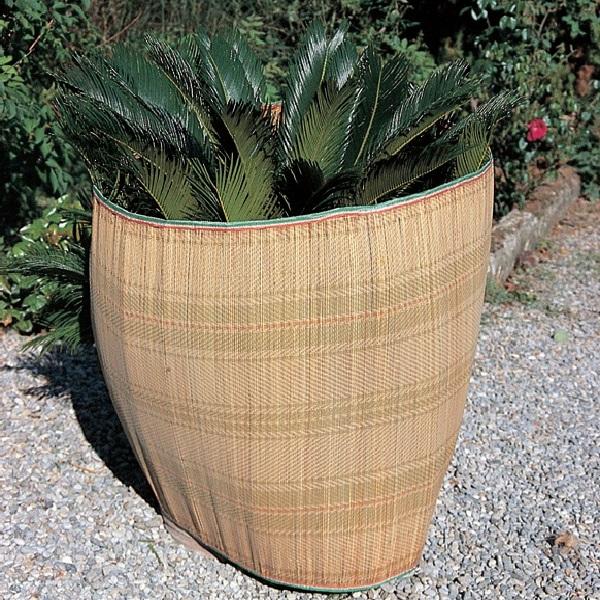 proteggere le piante dal gelo - Protezione dei vasi